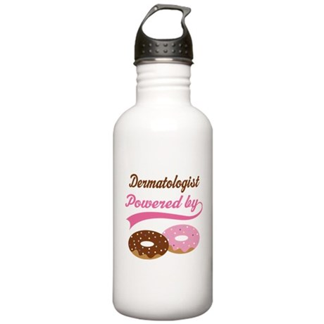 Dermatologist Gift Doughnuts Stainless Water Bottl