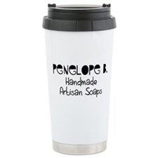 Penelope B. Ceramic Travel Mug