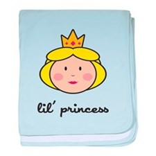 Lil Princess baby blanket