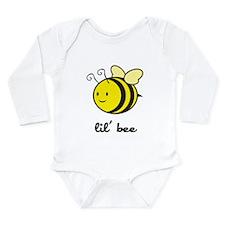 Lil Bee Long Sleeve Infant Bodysuit