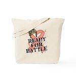 Ready Battle Uterine Cancer Tote Bag