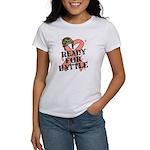 Ready Battle Uterine Cancer Women's T-Shirt