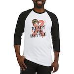 Ready Battle Uterine Cancer Baseball Jersey