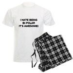 I Hate Being Bi-Polar It's Awesome! Men's Light Pa