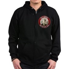 Rally Squirrel - The St Louis Zip Hoody