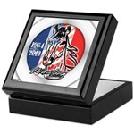 Mustang Horse Emblem Keepsake Box