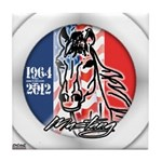 Mustang Horse Emblem Tile Coaster