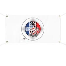 Mustang Horse Emblem Banner