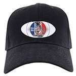 Mustang Horse Emblem Black Cap