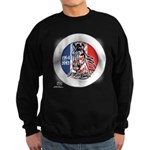 Mustang Horse Emblem Sweatshirt (dark)