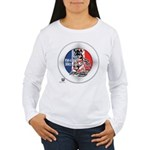 Mustang Horse Emblem Women's Long Sleeve T-Shirt