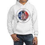 Mustang Horse Emblem Hooded Sweatshirt