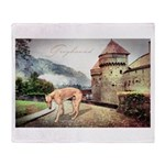 Castle Greyhound Throw Blanket