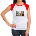 Castle Greyhound Women's Cap Sleeve T-Shirt