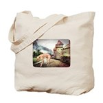 Castle Greyhound Tote Bag