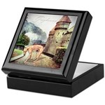 Castle Greyhound Keepsake Box