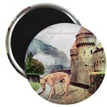 Castle Greyhound Magnet