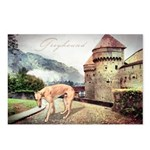 Castle Greyhound Postcards (Package of 8)