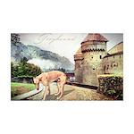 Castle Greyhound 38.5 x 24.5 Wall Peel