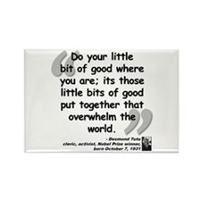 Tutu Good Quote Rectangle Magnet (100 pack)