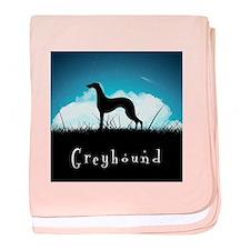 Nightsky Greyhound baby blanket