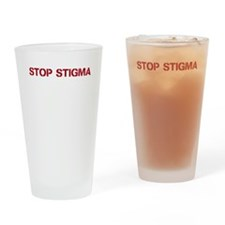 Stop Stigma Drinking Glass