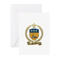 PICARD Family Crest Greeting Cards (Pk of 10)