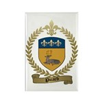 PICARD Family Crest Rectangle Magnet