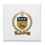 PICARD Family Crest Tile Coaster
