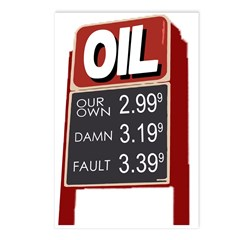 Oil: Our Own Damn Fault (8 Postcards)