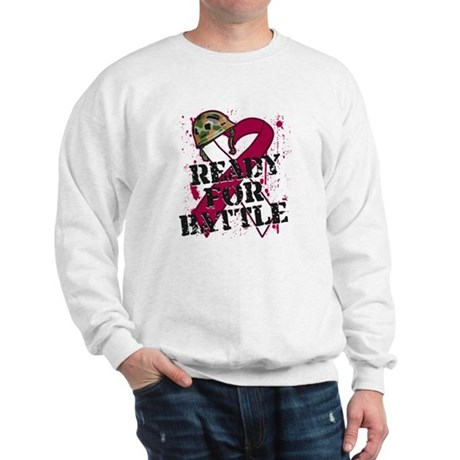 Battle Throat Cancer Sweatshirt