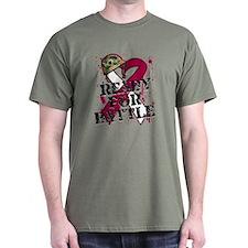 Battle Throat Cancer T-Shirt