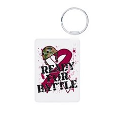 Battle Throat Cancer Keychains