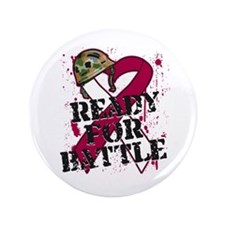 "Battle Throat Cancer 3.5"" Button"