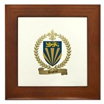 DUPERRE Family Crest Framed Tile