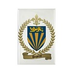 DUPERRE Family Crest Rectangle Magnet