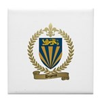 DUPERRE Family Crest Tile Coaster