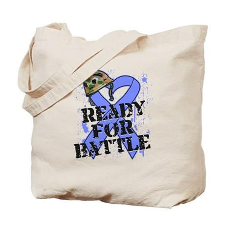 Battle Stomach Cancer Tote Bag