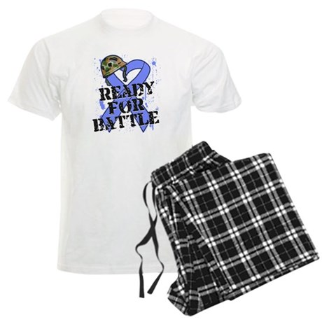 Battle Stomach Cancer Men's Light Pajamas
