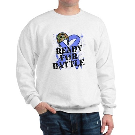 Battle Stomach Cancer Sweatshirt