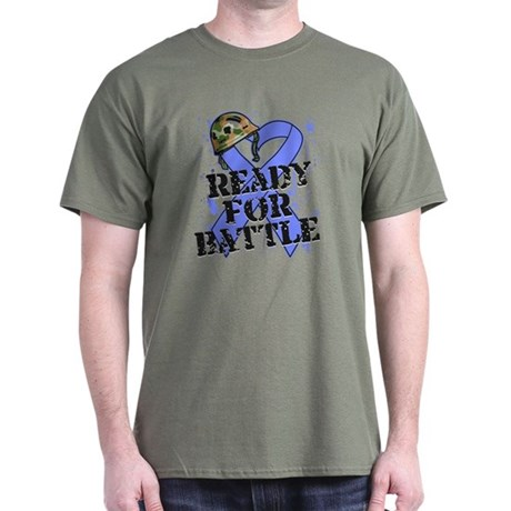 Battle Stomach Cancer Dark T-Shirt