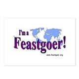 I'm a Feastgoer Postcards (Package of 8)