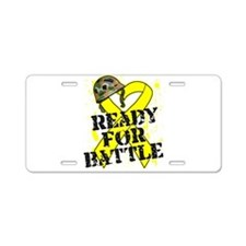 Battle Sarcoma Cancer Aluminum License Plate