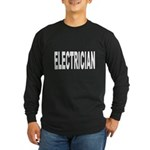 Electrician Long Sleeve Dark T-Shirt