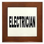 Electrician Framed Tile