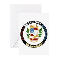 DUI - Atlanta Recruiting Battalion Greeting Card