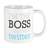 Twitter Boss Small Mugs