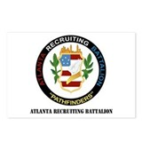 DUI - Atlanta Recruiting Battalion with Text Postc