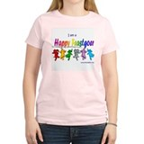 I am a Happy Feastgoer Women's Pink T-Shirt
