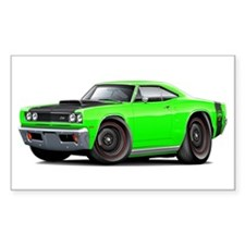 1969 Super Bee A12 Lime Decal